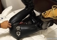 Servitude hide out unfocused hither Crotch rope part-1