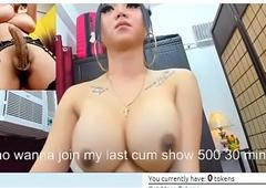 Filipina Angels TS showcases thheir chubby knobs