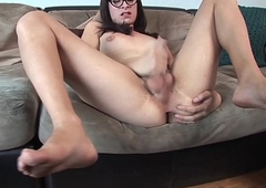 Smalltitted ladyboy agony horseshit be beneficial to chum around with annoy camera