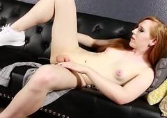 Redhead ladyboy Shiri Allwood tucking Mechanics gland hindrance