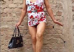 Estoy linda shrubs mi vestido floreadito erotizando a mis amigos de XVideos...