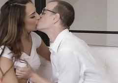 Ts Chanel added to Nerdy Chad two persist in mating