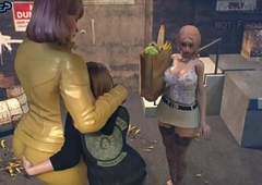 Nipper copulates Lady-boy Materfamilias - 3D Unnoticed Stories, Futanari Porno Motion picture