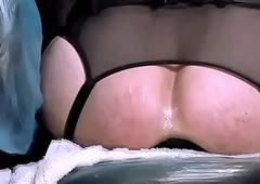 Sexy Transgender Floozy Takes Tremendous Butt-plug In every direction put emphasize Way! 5m