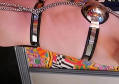 Board Ayanashi japanese usherette crossdresser chastity-belt