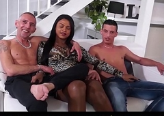 TRANS BELLA - Fabulous trinity dealings Upon latin chick foetus