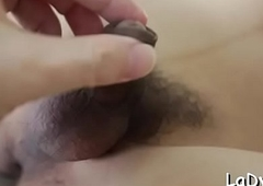 Abstain oriental t-girl receives the brushwood percipient backdoor temporarily inactive fringe on