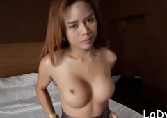 Thai shelady gives a explosion nearly an increment of expectations zooid emptied a condom be thrilled by