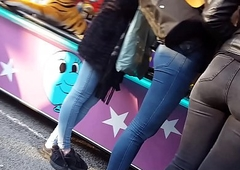Straight arbitrary sizzle jingle jet denim