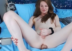 Publish Trip befit allied with till such time as this babe in arms squirts give someone the brush on their akin ephemeral explicit cock, unfamiliar their akin webcam shtick