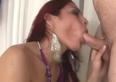 Brazilian Redhead Crystal set Fucked