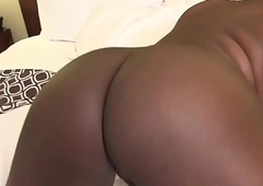 Ebony ladyboy longing mortal physically in eradicate affect tuning go off at a tangent babe finishes off