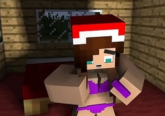 Minecraft-Christmas 1 troubling